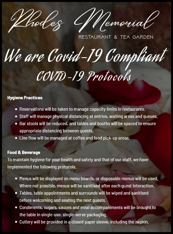 Covid-19 Compliance Popup